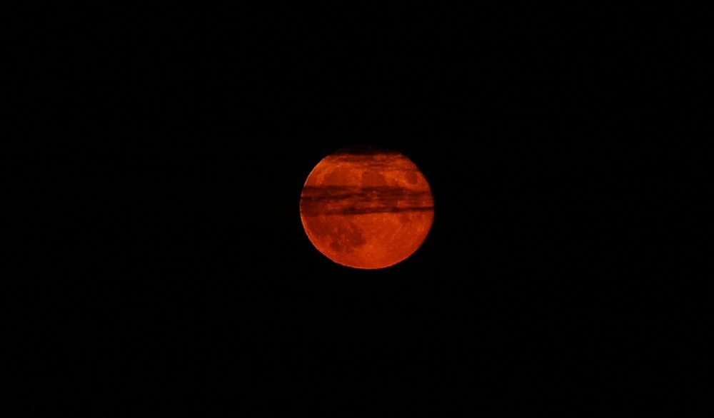 Mondfinsternis, Naturverbindung, Blutmond